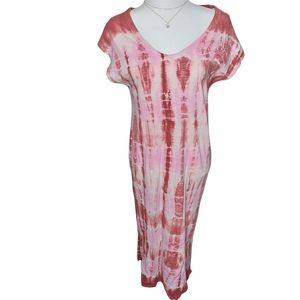 Pink Tie Dye Sundress or Cover-up